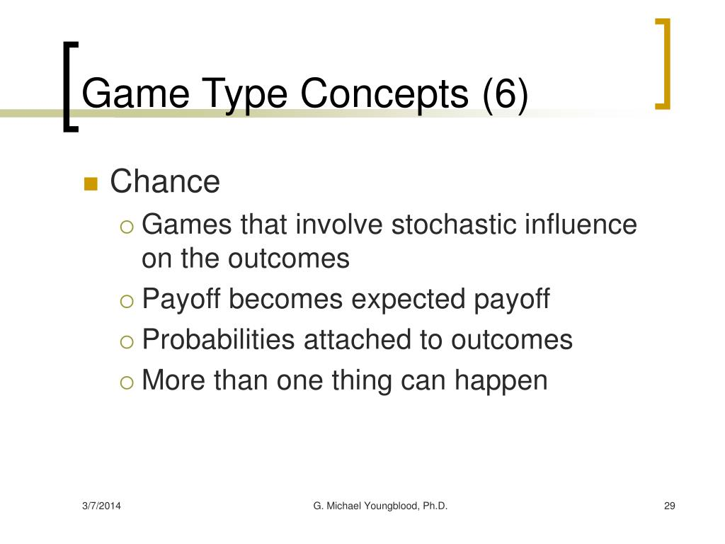 Game Type Concepts (6)