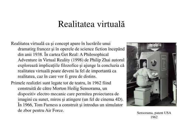 Realitatea virtual