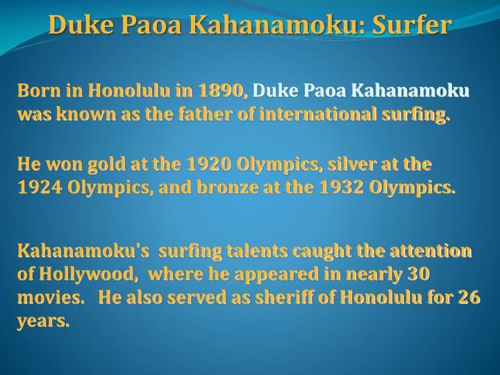 Duke Paoa