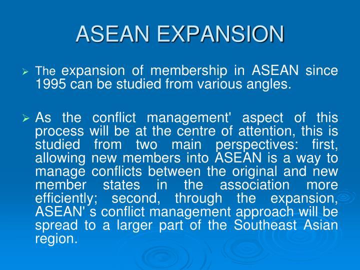 ASEAN EXPANSION