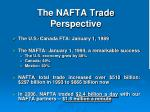 the nafta trade perspective