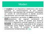 moden
