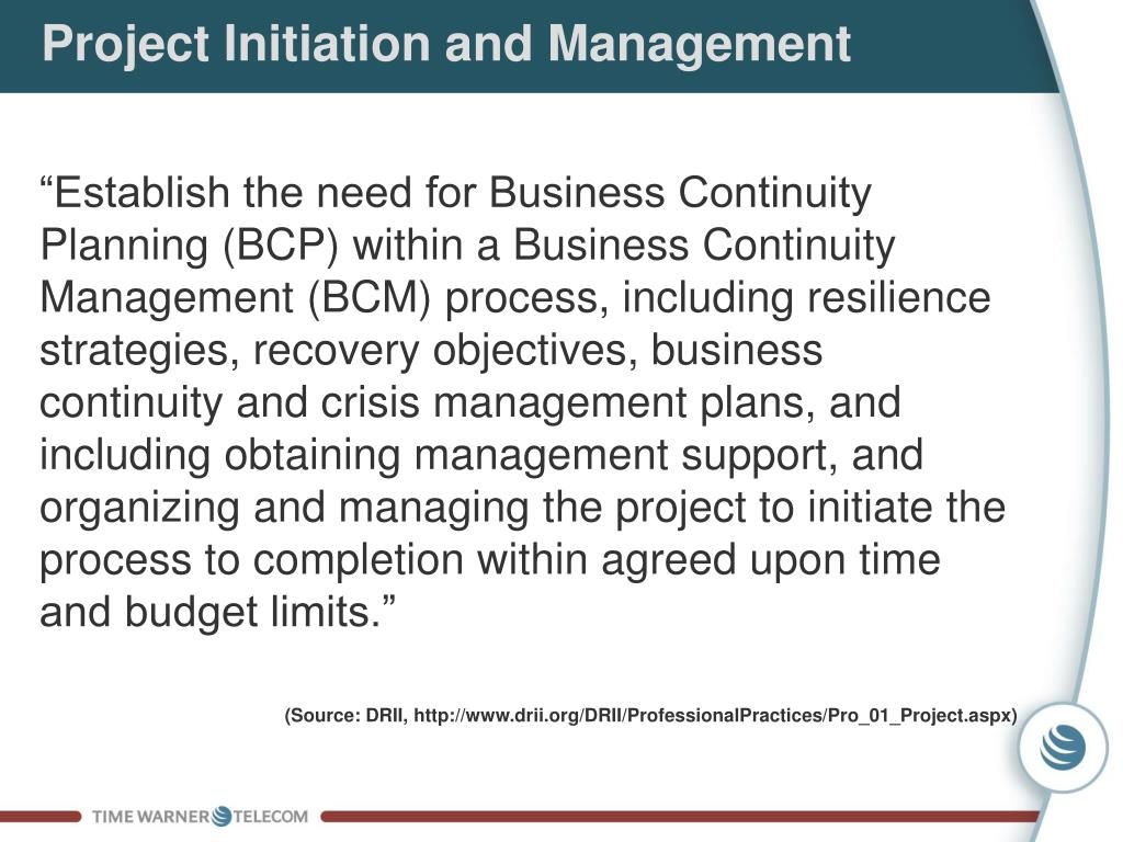 Project Initiation and Management