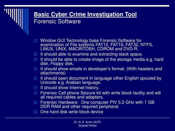 Basic Cyber Crime Investigation Tool