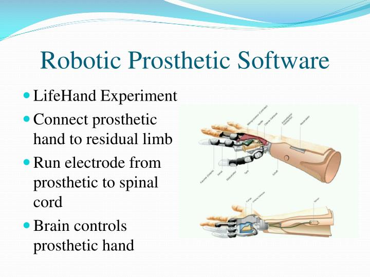 Robotic Prosthetic Software