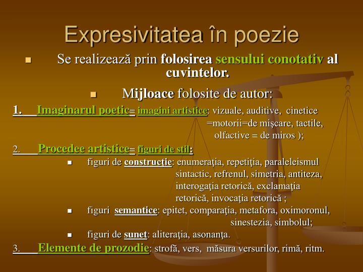 Expresivitatea