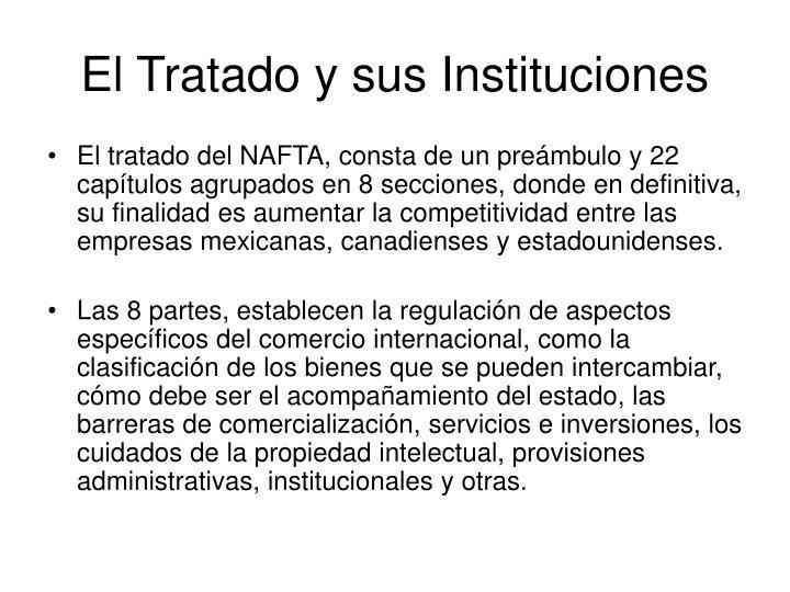 El Tratado y sus Instituciones