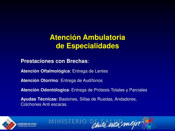 Atención Ambulatoria
