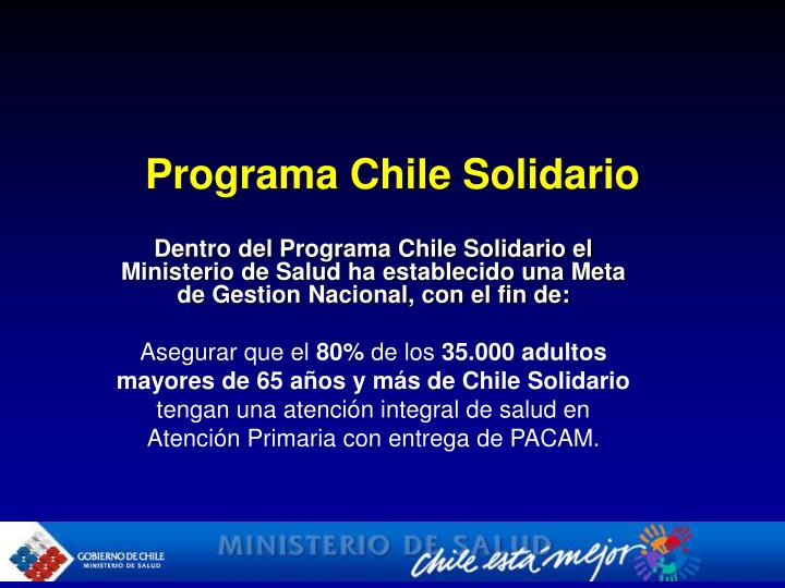Programa Chile Solidario