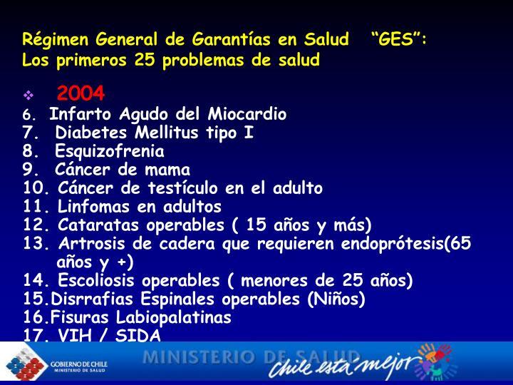 Régimen General de Garantías en Salud