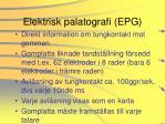 elektrisk palatografi epg