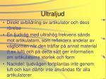ultraljud