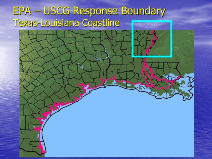 EPA – USCG Response Boundary