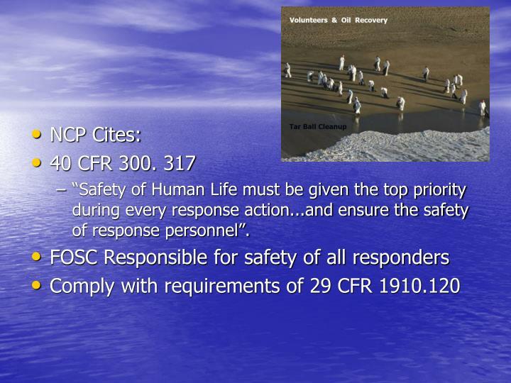 NCP Cites: