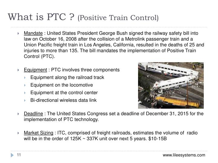 What is PTC ?