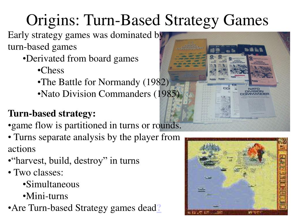 Origins: Turn-Based Strategy Games