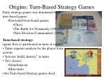 origins turn based strategy games