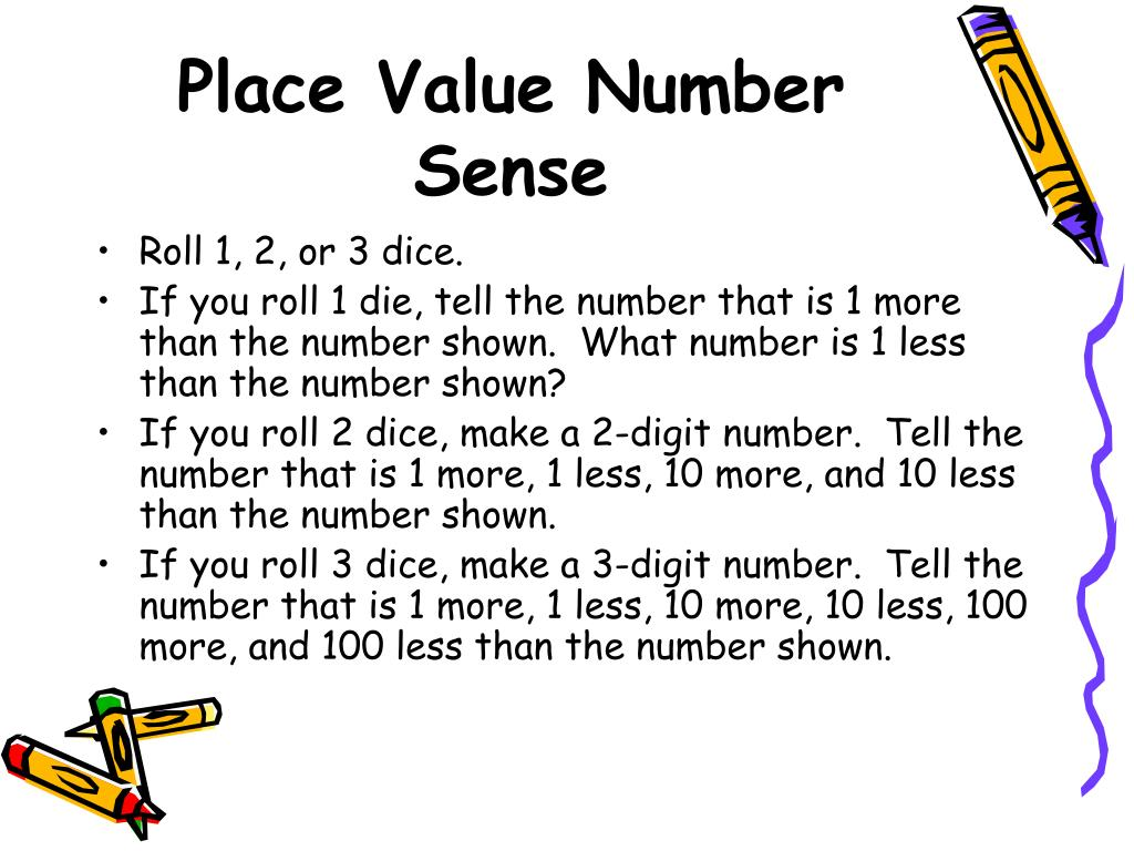 Place Value Number Sense