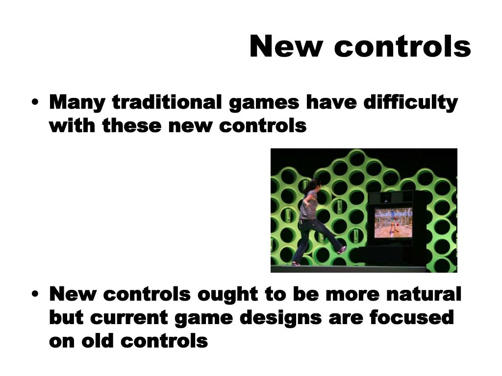 New controls