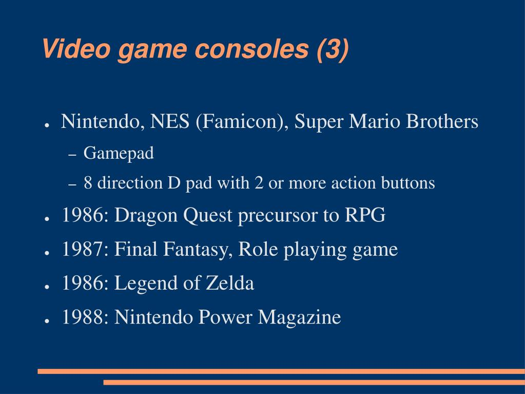 Video game consoles (3)