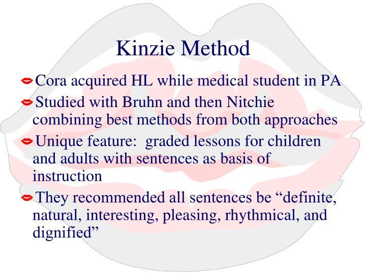 Kinzie Method