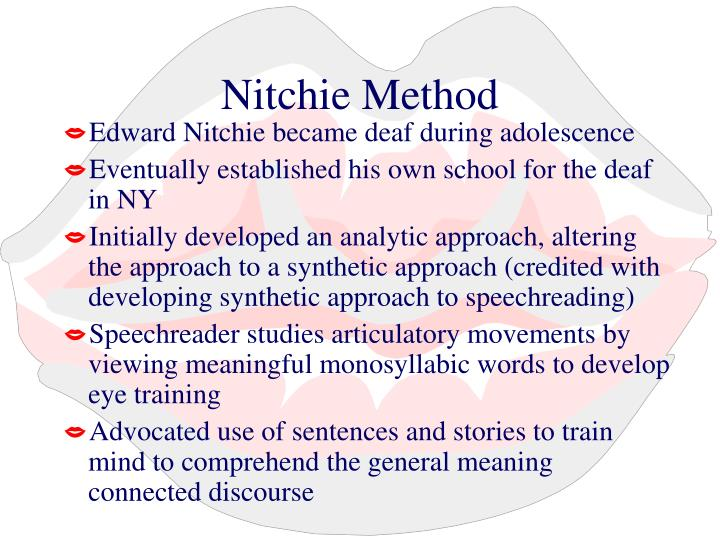Nitchie Method