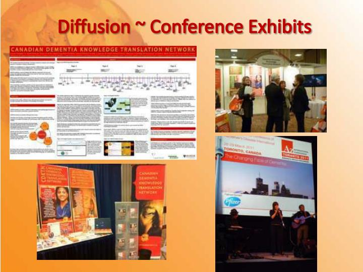 Diffusion ~ Conference Exhibits