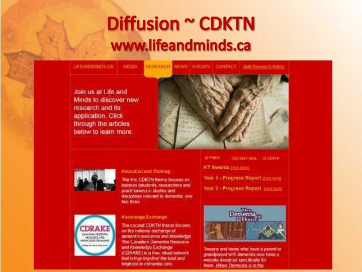 Diffusion ~ CDKTN