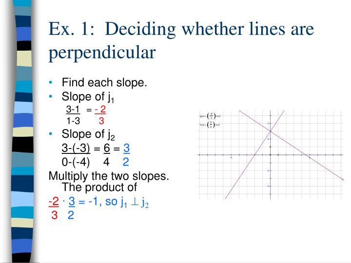 Find each slope.