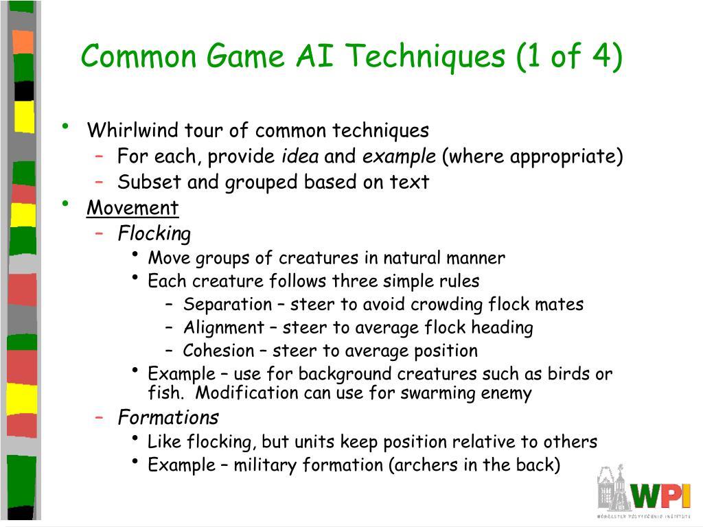 Common Game AI Techniques (1 of 4)