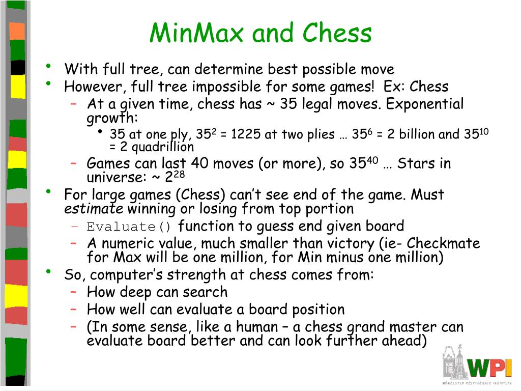 MinMax and Chess