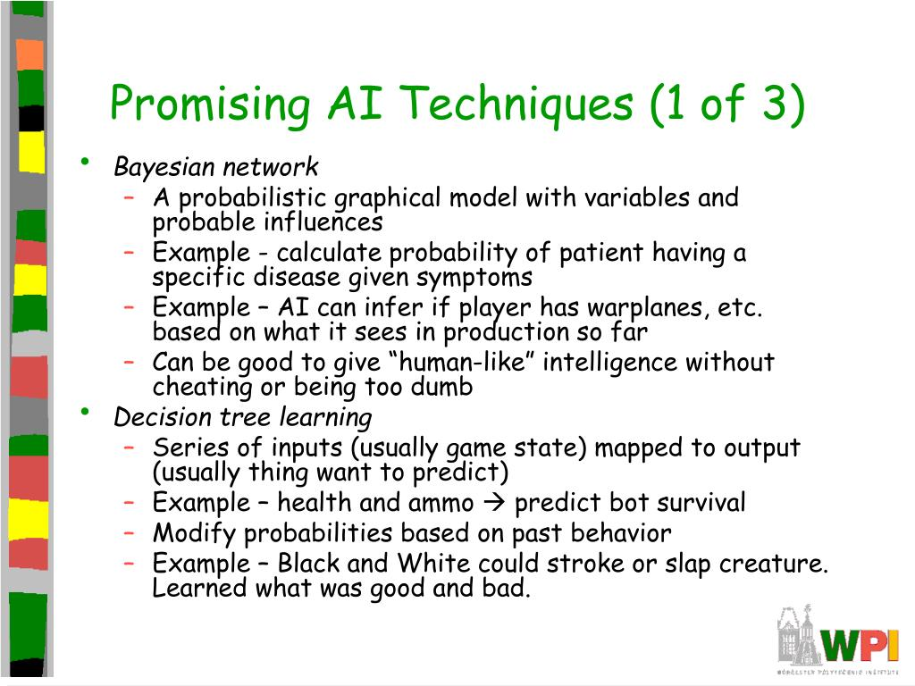 Promising AI Techniques (1 of 3)