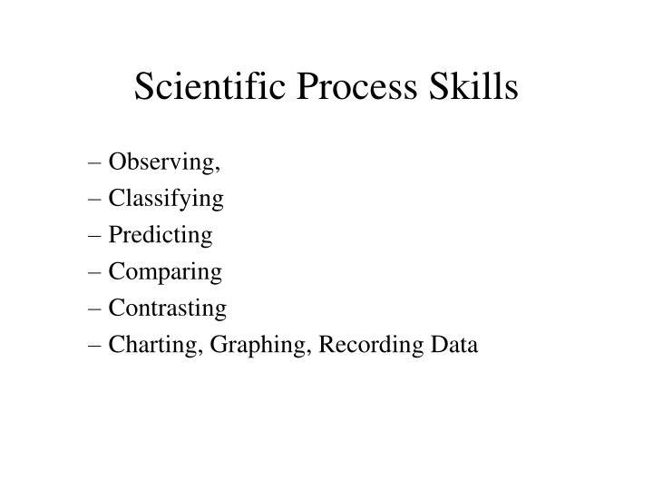 Scientific Process Skills