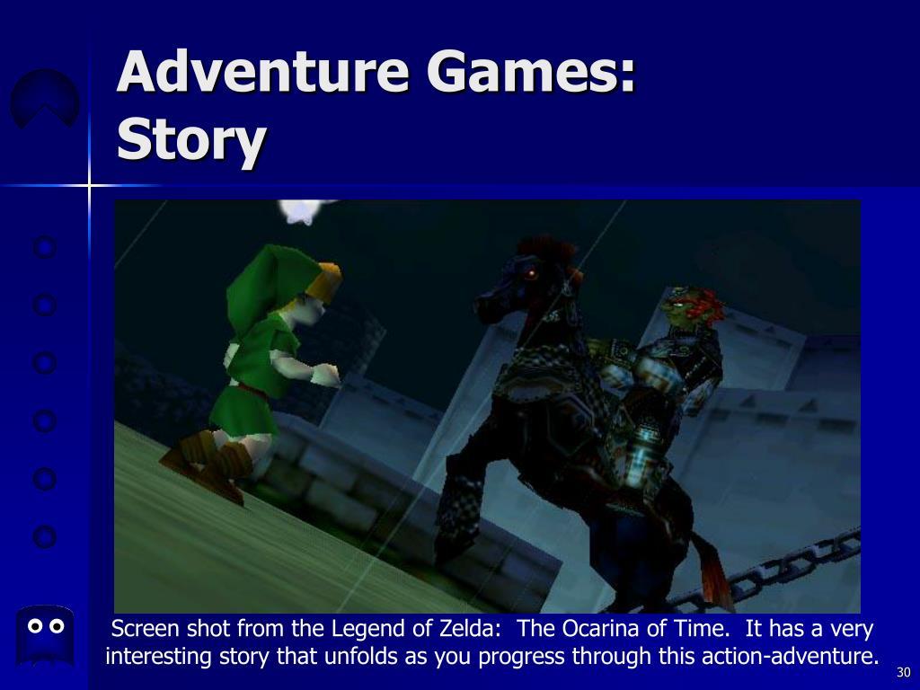 Adventure Games: