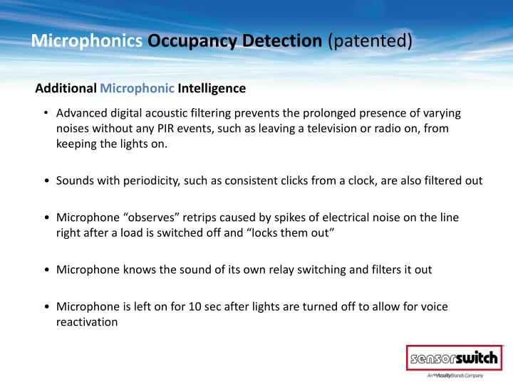 Microphonics