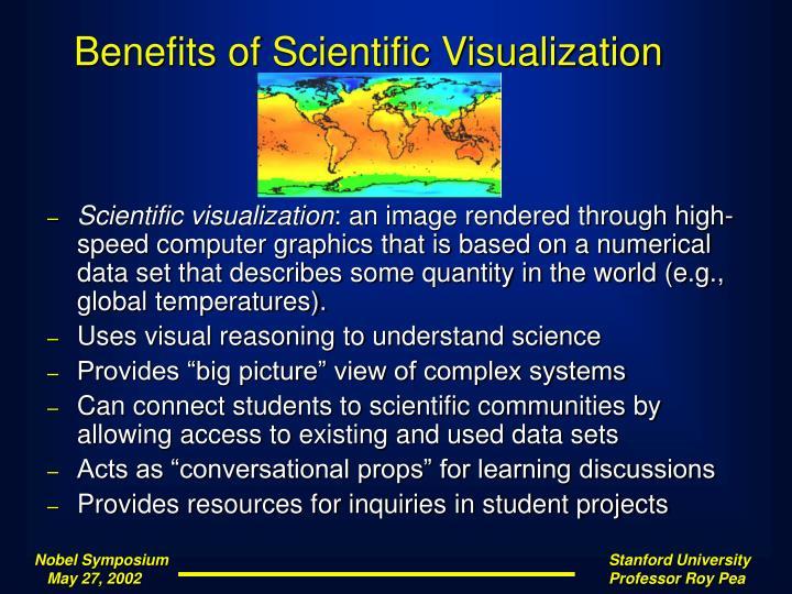 Benefits of Scientific Visualization