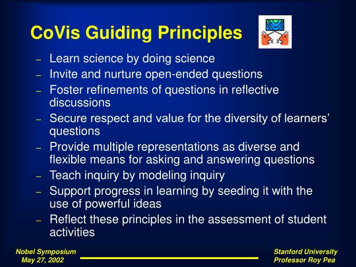 CoVis Guiding Principles