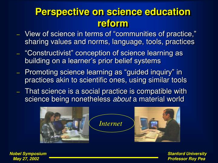 Perspective on science education reform