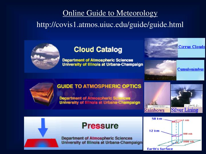 Online Guide to Meteorology