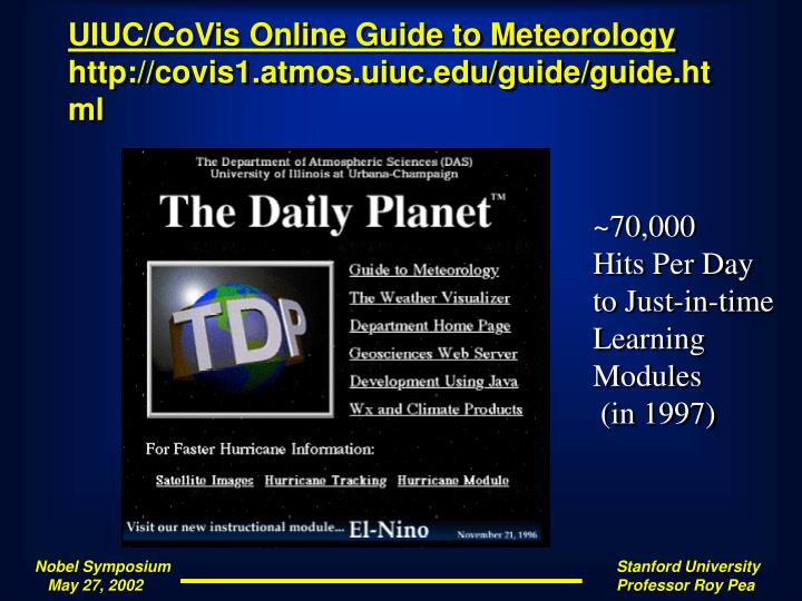 UIUC/CoVis Online Guide to Meteorology