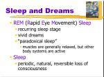 sleep and dreams1