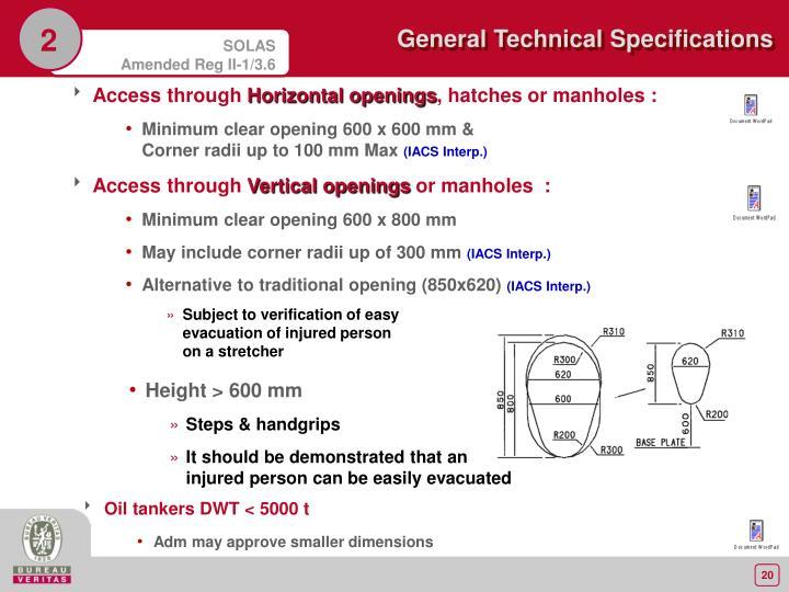 Access through