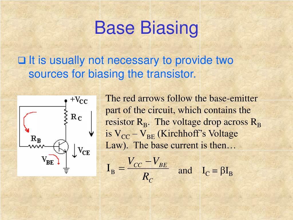 Base Biasing