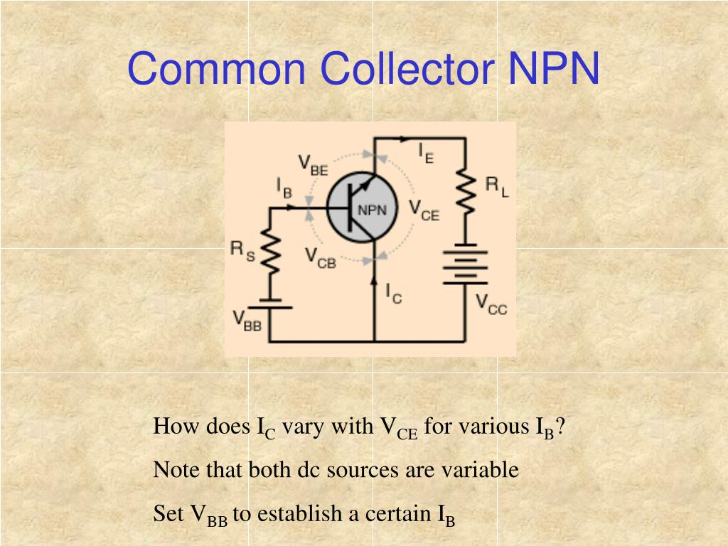 Common Collector NPN