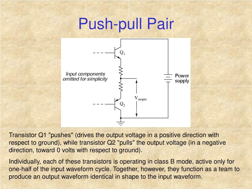 Push-pull Pair