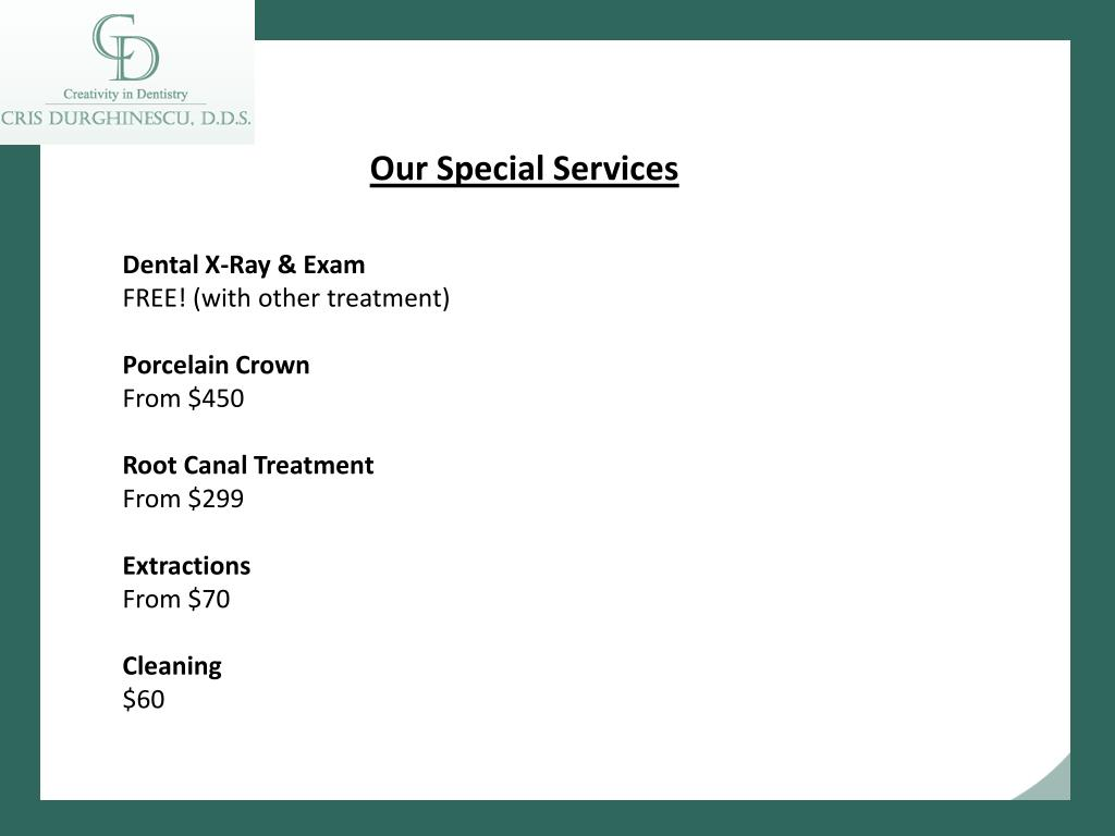 Our Special Services