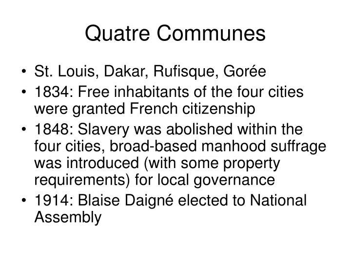 Quatre Communes