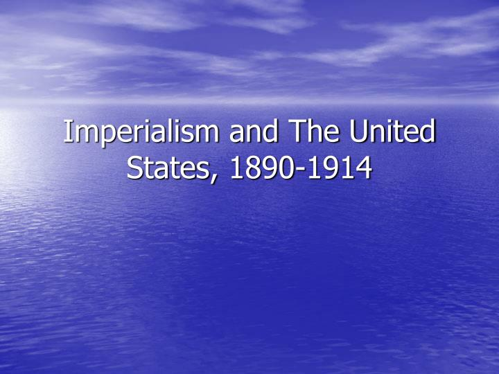 an introduction to the issue of imperialism in the united states Key issue 1 where are states located  » imperialism-  – boundaries within the united states are used to create.