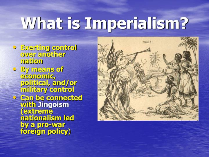 imperialism in the united states The age of imperialism (1870-1914)  for the united states, however, the open door policy became the cornerstone.