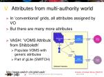 attributes from multi authority world